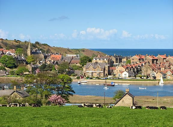 Alnmouth Notecard