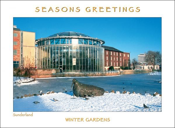 Sunderland Winter Gardens Christmas Card